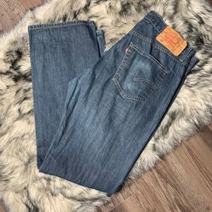 Levi's 501 Classic Button Fly Jeans 36x32